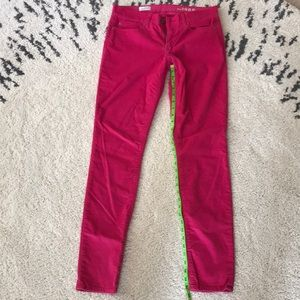 Adorable pink velvety pant
